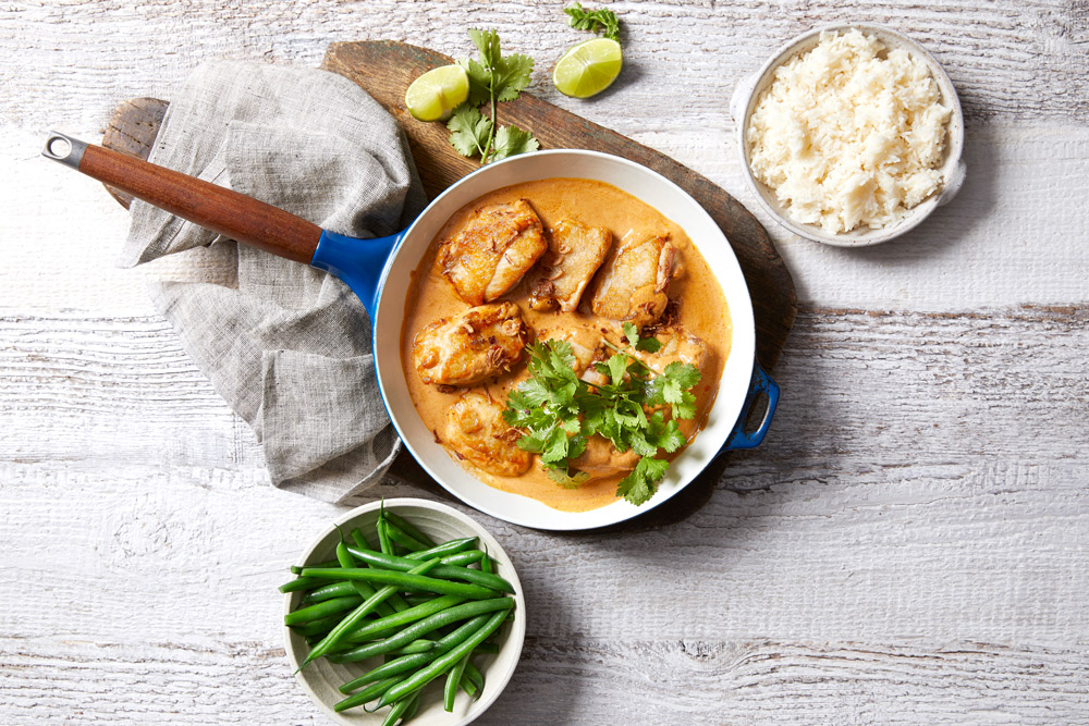 Peanut Butter Chicken Curry